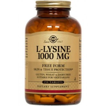 Solgar L-Lysine 1000 MG 100 Tablets