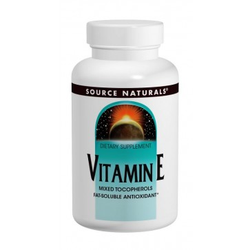 Source Naturals Vitamin E 100 Tablets