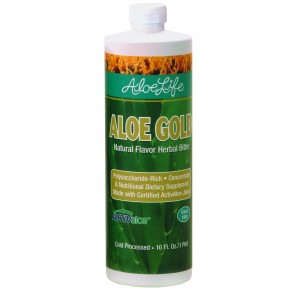 Aloe Gold Whole Leaf Juice Concentrate Pint