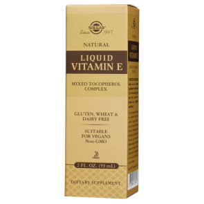 Solgar Liquid Vitamin E with Dropper