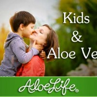 Kids and Aloe Vera