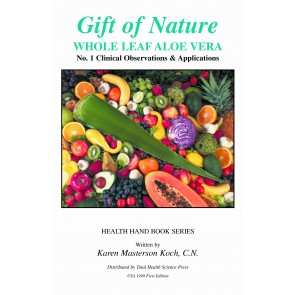 """Gift of Nature"" - Whole Leaf Aloe Vera Book"