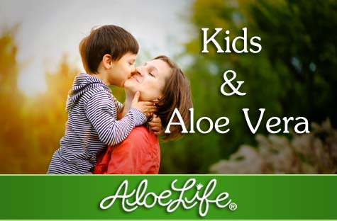 Aloelife Kids And Aloe Vera